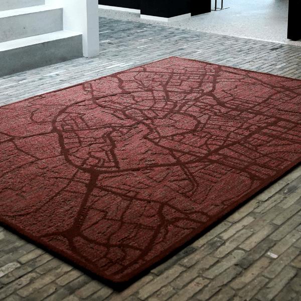 Hippe, unieke tapijten zorgen voor een verrassende innovatie in de tapijtenwereld